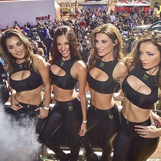 Hot sexy naiked monster energy girls