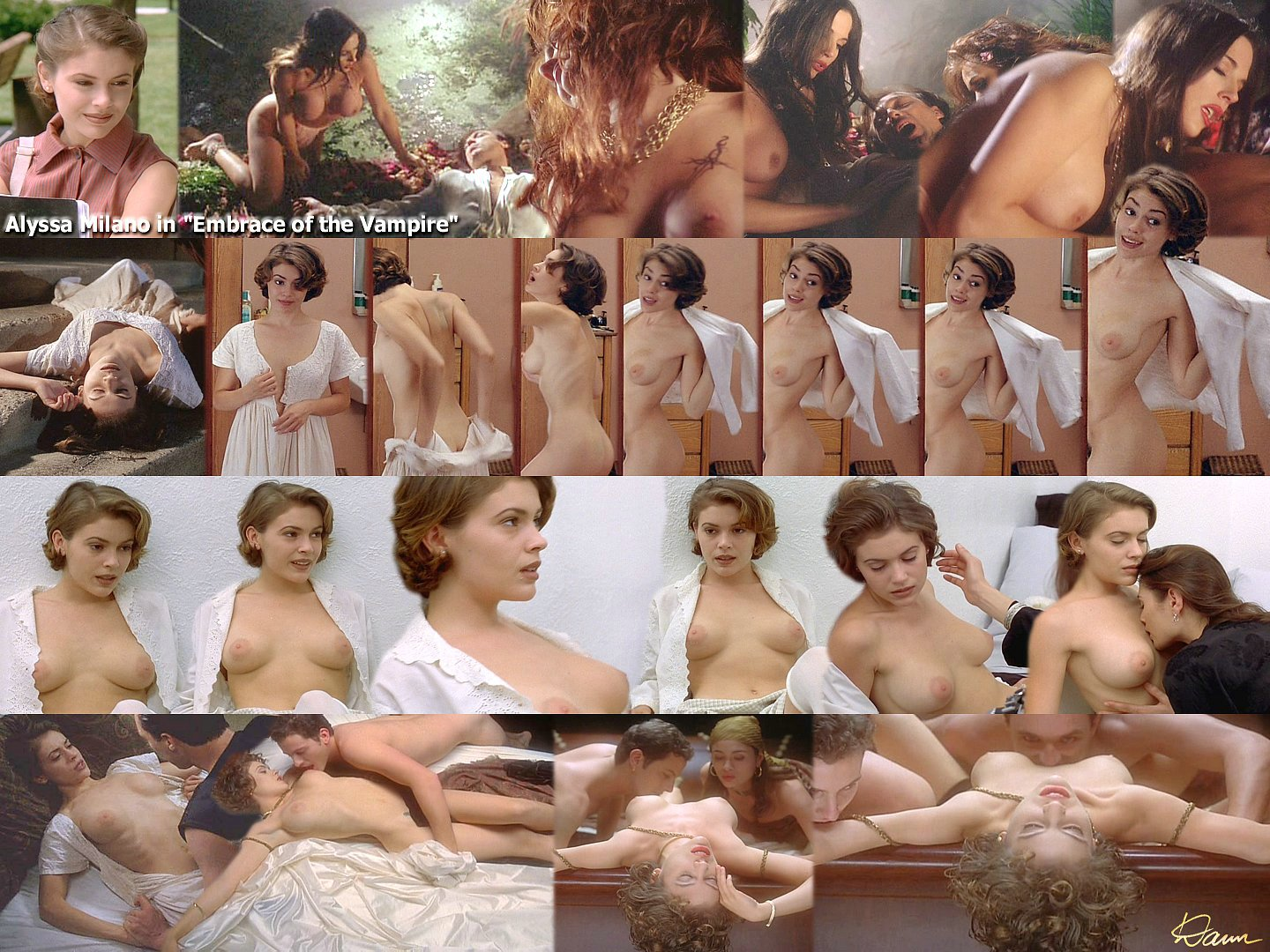 Charmed girls nude on tv