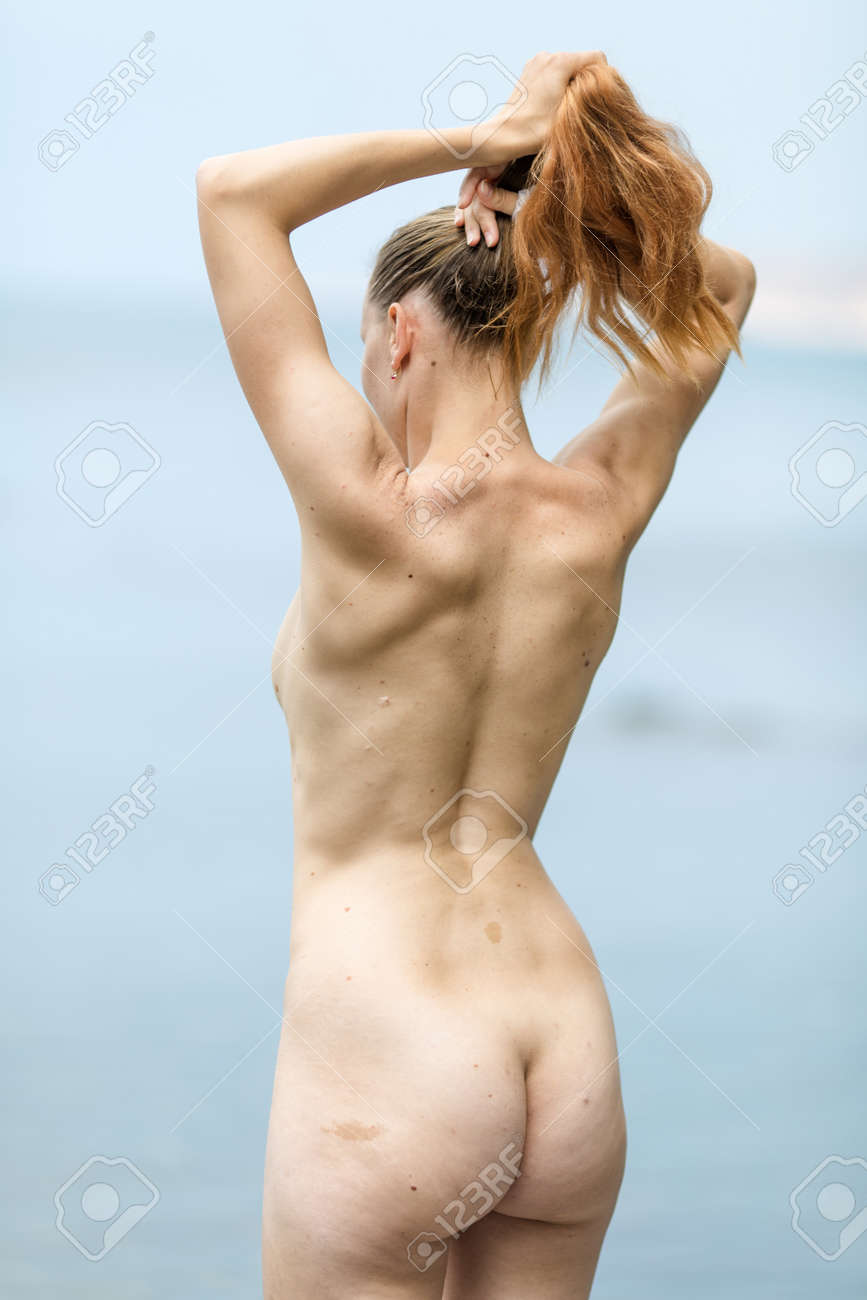 Naked girls rear view