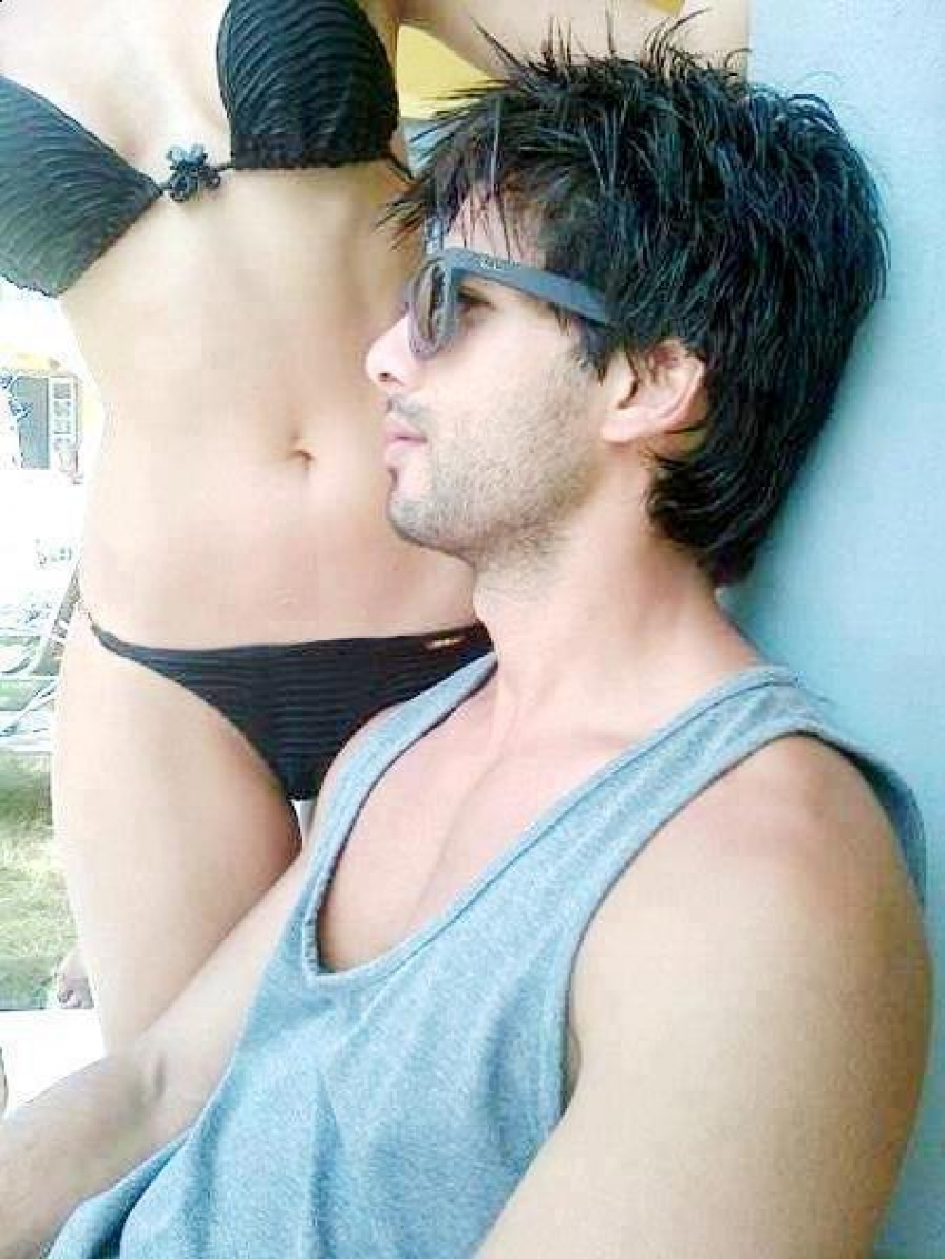 Shahid kapoor and a girl nude images